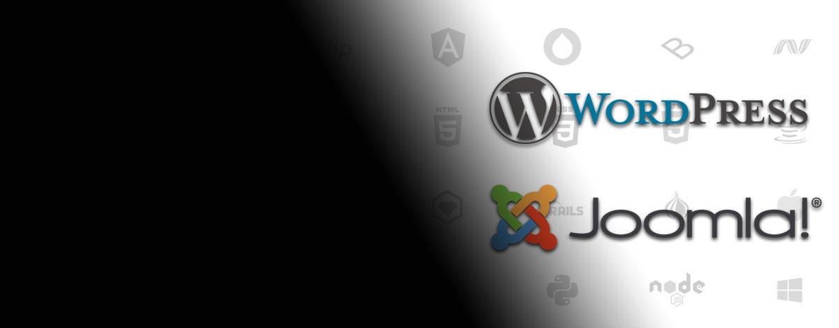 CMS WordPress und Joomla! Webmaster